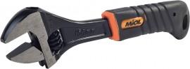 Разводной ключ (рукоятка обрезиненная, эргономичная) MIOL