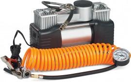 Миникомпрессор автомобильный двухпоршневой eXpert E-81-118