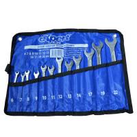 Набор ключей рожково-накидных в копроновой сумке eXpert E-51-712