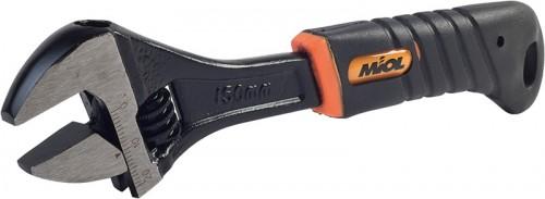 MIOL Разводной ключ (рукоятка обрезиненная, эргономичная) MIOL - Картинка 1