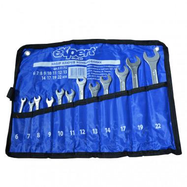 eXpert Набор ключей рожково-накидных в копроновой сумке eXpert E-51-712 - Картинка 1