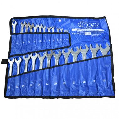 eXpert Набор ключей рожково-накидных в копроновой сумке eXpert E-51-725 - Картинка 1